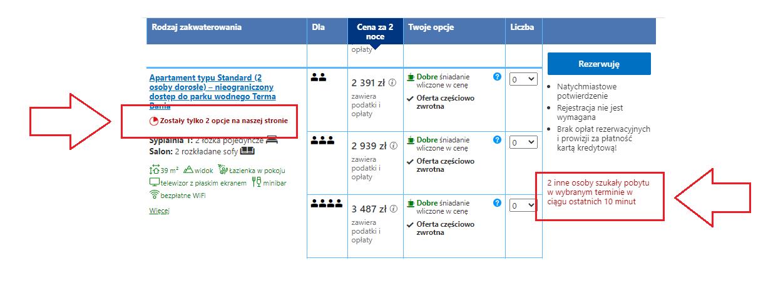 rezerwacje via booking.com